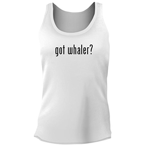 Tracy Gifts got Whaler? - Women's Junior Cut Adult Tank Top, White, XX-Large