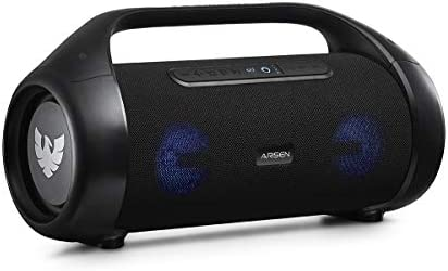 ARISEN Bluetooth Audio system, 80W Stereo Sound Wealthy Bass Moveable Speaker, Bluetooth 5.0 & TWS Waterproof Out of doors Speaker, Wi-fi Bluetooth Speaker with A Microphone & Gentle(Rocking)