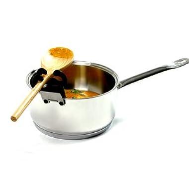 Spoon Pot Clip Handy Kitchen Gadget Organize Cooking