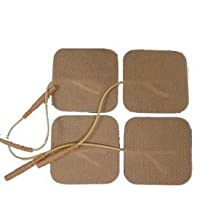 Electrodes for TENS Machine / EMS Machine (4 pack) Brand: StimTec