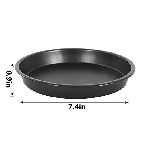Esjay Pizza Pan Baking Tray, 7 Inch Deep Pizza Tray Compatible with Ninja Foodi 6L, 7.5L, Compatible with Instant Pot 5.7, 8L