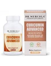 Dr Mercola Curcumin Advanced, 500mg, 90 Capsules