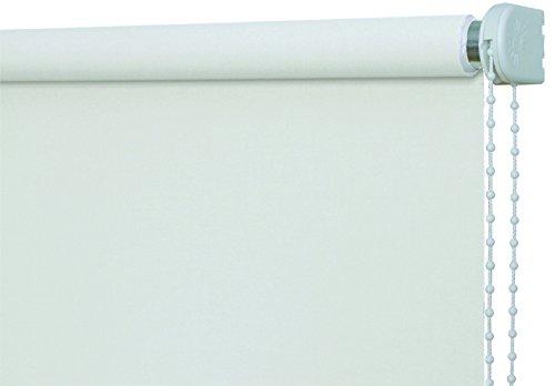 JalousieCrew Verdunkelungsrollo Kettenzugrollo Classic Seitenzug Rollo Weiss - 60-200 cm Länge 180 cm und 230 cm Blickdicht Blickschutz Tür Fenster (100 x 230 cm) B079RKWNNY Seitenzug- & Springrollos