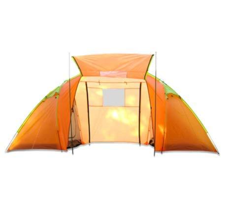 Außen Zwei Schlafzimmer, EIN Zimmer manuelles Campingzelt 4 Personen wasserdicht und moskitosicher touristischen Campingzelt