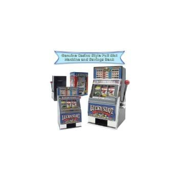 Trademark Global Crazy Diamonds Slot Machine Bank Sports & Outdoors
