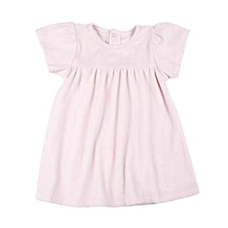 Stephan Baby My Little Velour Dress, Blush Pink, Fits 6-12 Months