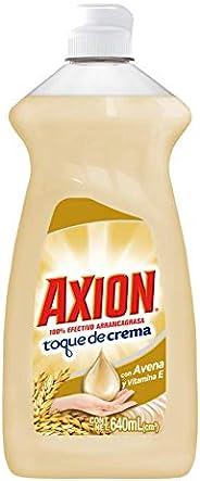 Axion Detergente líquido axion toque de crema con avena y vitamina e 640 ml