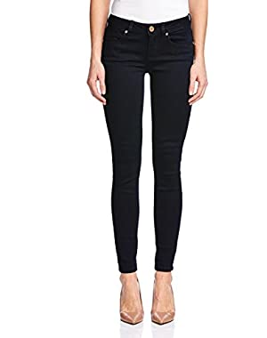 GUESS Womens Power Skinny-Leg Jeans, Dark Wash Silicone 26R