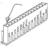 Amana Remote Escutcheon Kit - PTAC Electrical Accessories #REK10B