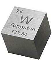 Tungsten Metal Cube 99.95% Engraved Periodic Table W Specimen