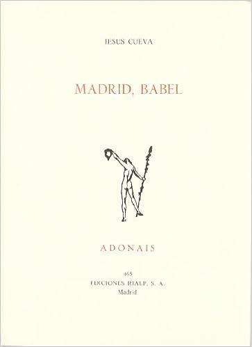 Madrid, Babel (Adonais): Amazon.es: Jesus Cueva, Jesus Cueva: Libros