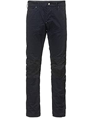 G-Star Mens 5620 3D Tapered Trainer Pattern Mix Colored Jeans in Dark Police Blue/Mazarine Blue Overdye