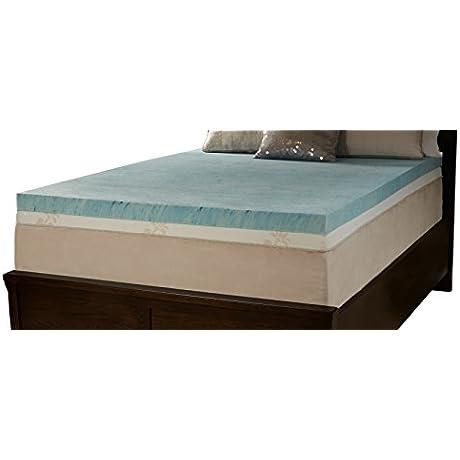 Comfort Essentials 4 Gel Memory Foam Topper California King