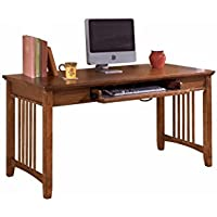Ashley Furniture Signature Design - Cross Island Home Office Desk - 60 in - Rectangular - Medium Brown