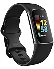 Charge 5 Advanced Fitness & Health Tracker with Built-in GPS, Stress Management Tools