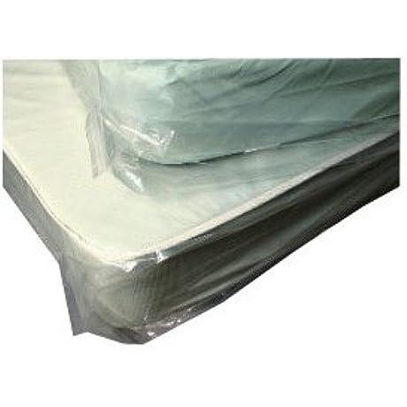Elkay Plastics K48T 1 5 Mil Tint Low Density Mattress Bag Twin 39 X 9 X 90 Tan Roll Of 150