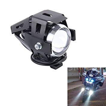 Uniqus U5 10W 1000LM CREE LED External Motorcycle Headlight Lamp, DC 12-80V(White Light)