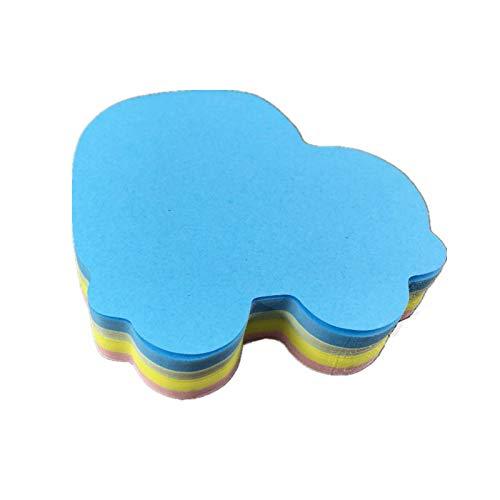 Cute Modeling Sticky Notes-4 Colors Self-Stick