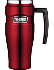 Thermos Stainless King Insulated Travel Mug, 470ml, Red, SK1000RAUS