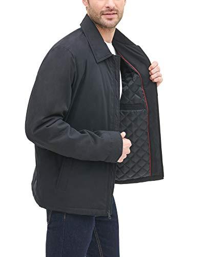 Tommy Hilfiger Men/'s Micro-Twill Open-Bottom Zip-Front Jacket Choose SZ//Color