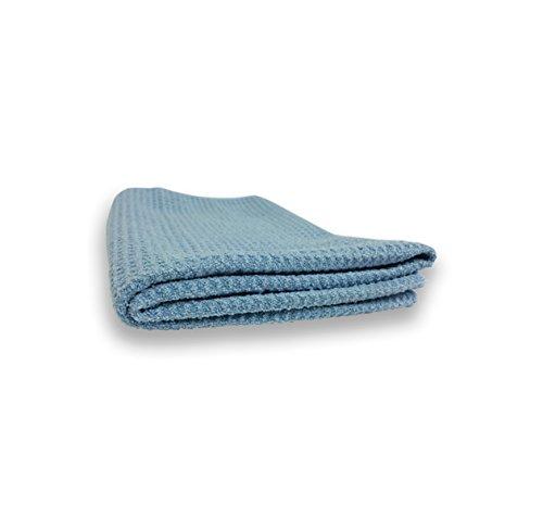 Royal Detail Club Waffle Weave Drying Towel 16″ X 24″ (Blue)