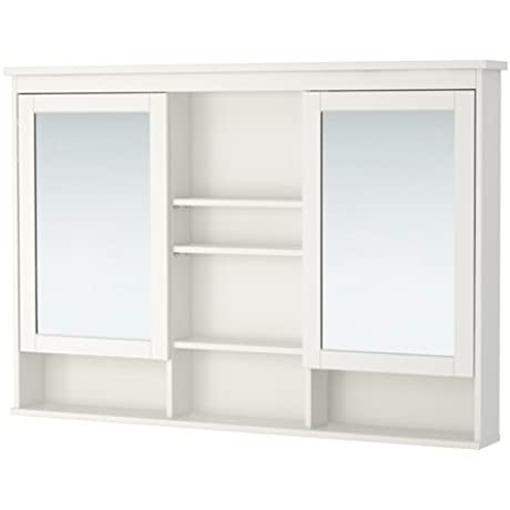 Ikea Mirror Cabinet With 2 Doors White 47 1 4x38 5 8 26210 292623 108