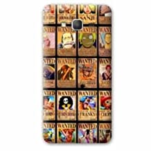 Back cover case replacement Samsung Galaxy Grand Prime Manga - One piece - - wanted B -