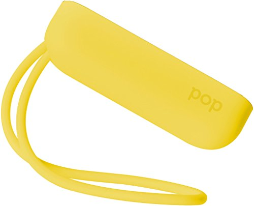Polaroid Colorful Cover with Strap POP Instant Print Digital Camera - Yellow