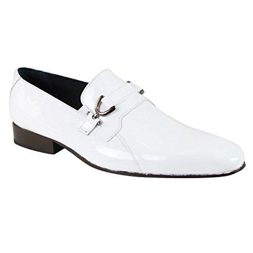 Pierre Cardin Cuero Zapatos Justo Blanc Zapatos de moda en línea Obtenga el mejor descuento de venta caliente-Descuento más grande