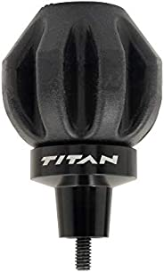 Titan™ Crossbow Bolt De-Cocking Head, Standard AMO/ATA Arrow Threads, Silicone/Steel, Black