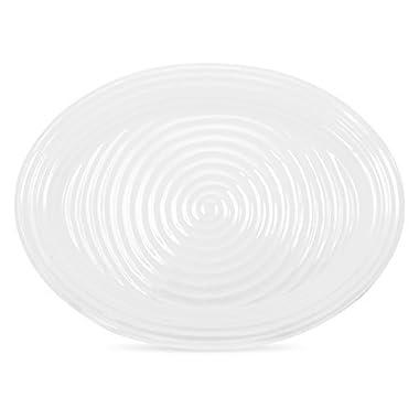 Portmeirion Sophie Conran White Oval Turkey Platter by Portmeirion