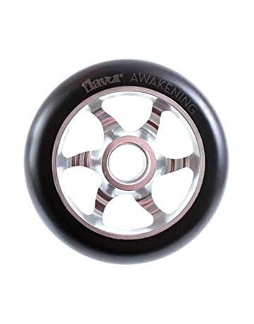 1 par de ruedas para silla de ruedas de 110 mm x 24 mm