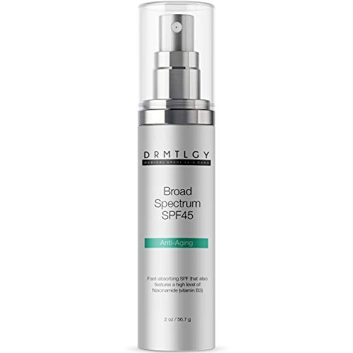 DRMTLGY Anti Aging Clear Face Sunscreen and