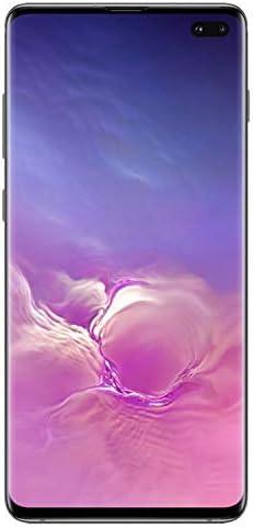 Samsung Galaxy S10+, 128GB, Prism Black - For Verizon (Renewed)