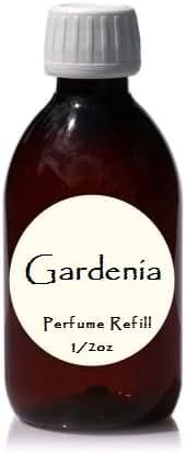 Perfume Refills for Floral Fragrances - by De'esse Boutique - 1/2oz 1oz 2oz Sizes (1oz Gardenia)