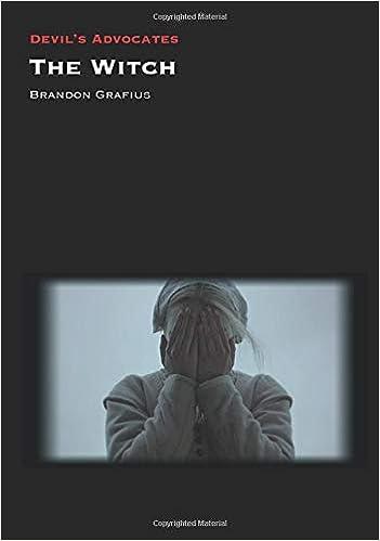 The Witch (Devil's Advocates): Amazon.co.uk: Brandon Grafius:  9781800348059: Books