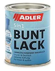 ADLER 5in1 bonte lak voor binnen en buiten - 125ml - weerbestendige lak en grondlaag voor hout, metaal en kunststof