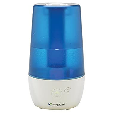 PureGuardian 12L Output per Day Ultrasonic Cool Mist Humidifier, Personal Humidifier, Room Humidifier, Desktop Humidifier, Baby Humidifier, Small Humidifier, Pure Guardian H965