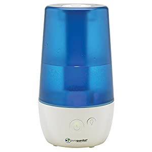 PureGuardian H965 Ultrasonic Cool Mist Humidifier for Bedrooms, Babies Nursery, Quiet, Filter-Free, 1 Gal Tank, 70 hr, Treated Tank Reduces Mold, Pure Guardian Humidifier with Essential Oil Tray