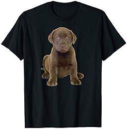 Chocolate Lab Puppy t shirt