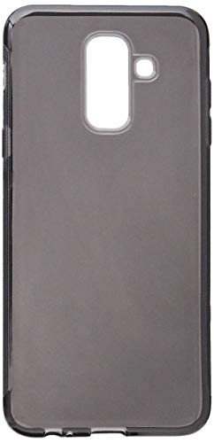 Capa para Samsung Galaxy J8 2018, Cell Case, Capa para Samsung Galaxy J6 2018, Capa Protetora Flexível, Fumê