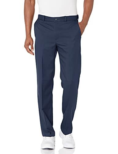 PGA TOUR Men's Flat Front Golf Pant with Expandable