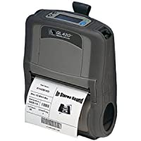 Zebra QL 420 Plus Direct Thermal Printer - Monochrome - Portable - Label Print