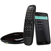 Logitech Harmony Smart Control with Smartphone App and Simple All In One Remote (Black)