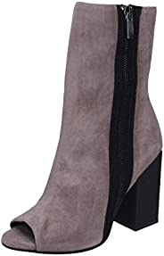 MARC ELLIS Boots Womens Suede Grey