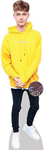Celebrity Cutouts HRVY (Yellow) Pappaufsteller lebensgross
