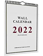 BESTonZON 2022 Wall Calendar Sep. 2021 to Dec. 2022 Weekly Planner Academic Calendar 16 Months Annual Yearly Calendar for Home Office Simple