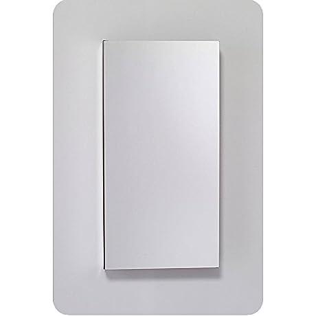 Robern MC1230D4FBRE2 M Series Mirror Cabinet With Beveled Edge Door Silver