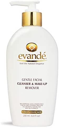 evande All Natural Cell Renewing Gentle Facial Cleanser and Make up Remover