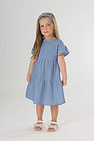 Vestido Infantil , Up Baby, Meninas